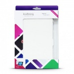 Купити Kuboq PU Leather Case Slim Cut for Apple iPad Air (KQAPIPDASCWECP) White