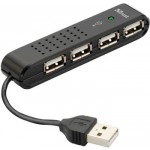 Купити Trust Vecco 4 Port USB 2.0 Mini Hub (14591)