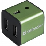 Купити Defender Quadro Iron 4-port USB2.0 (83506)