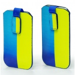 Купити Кисет Essence Ukraine flag XXL Samsung G350E / Samsuns J100 / Lenove A2010 Yellow-Blue
