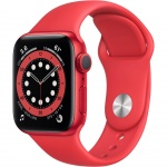 Купити Apple Watch Series 6 GPS 40mm Aluminium Case with PR (M00A3UL/A) Red