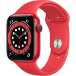 Купити Apple Watch Series 6 GPS 44mm Aluminium Case with Sport (M00M3UL/A) Red