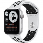 Купити Apple Watch Nike SE GPS 44mm Silver Aluminum Case with Pure Plati (MYYH2UL/A)